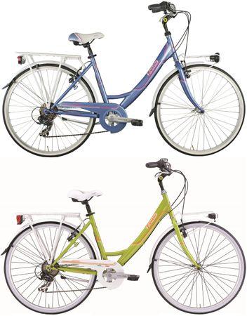 26 Zoll Damen City Fahrrad Legnano Tropea 6 Gang – Bild 1
