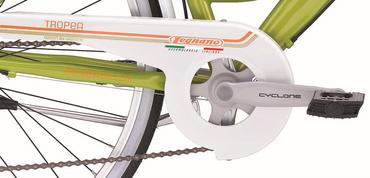26 Zoll Damen City Fahrrad Legnano Tropea 6 Gang – Bild 8