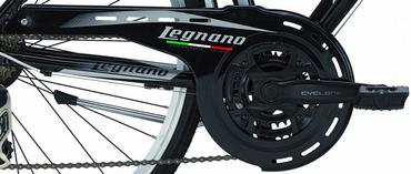 28 Zoll Legnano Amalfi Herren Trekking Fahrrad Aluminium 21-Gang – Bild 8