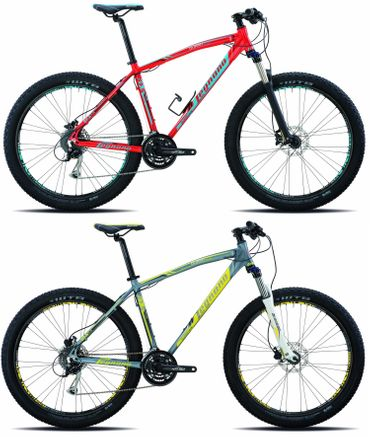 27,5+ Legnano Duran Hardtail Mountainbike 21 Gang