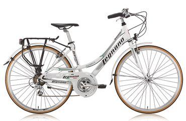 28 Zoll Legnano Ventimiglia Damen Trekking Fahrrad Aluminium 21-Gang – Bild 2