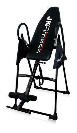 JKFitness Inversion Table Rückentrainer höhenverstellbar