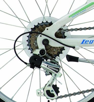 20 Zoll Legnano Twister Jungen Mountainbike Aluminium 12-Gang – Bild 8