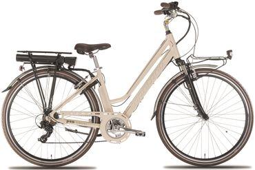 28 Zoll Elektro Damen Fahrrad Montana E-Bluecity – Bild 3