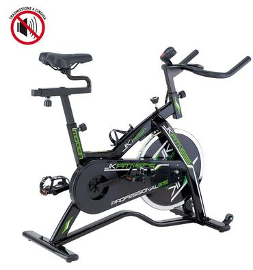 JKFitness Professional 515 Indoor Cycle mit Riemen-Antrieb – Bild 1