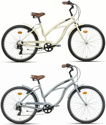 26 Zoll Damen Beach Cruiser Montana Wave 7 Gang – Bild 1