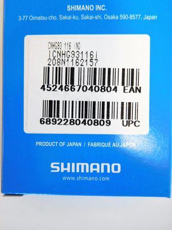 Shimano Kette CN-HG93 9-fach 116 Glieder – Bild 2
