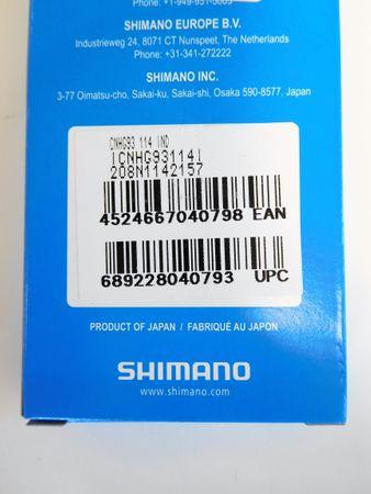 Shimano Kette CN-HG93 9-fach 114 Glieder – Bild 2