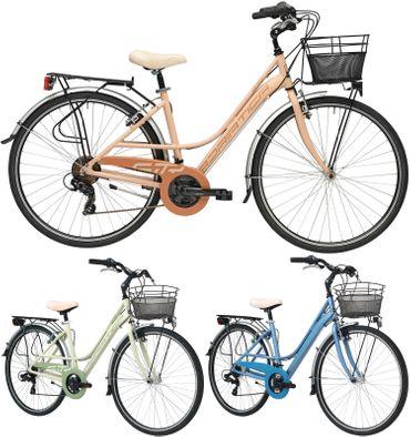 28 Zoll Damen City Fahrrad Adriatica Sity3 6 Gang