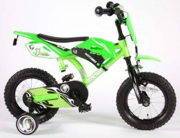 12 Zoll Kinderfahrrad Volare Motobike  – Bild 1