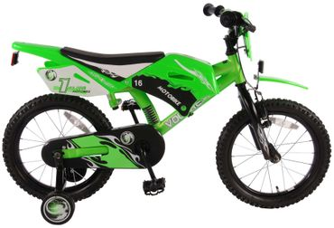 16 Zoll Kinderfahrrad Volare Motobike – Bild 1