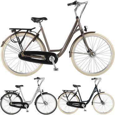 28 Zoll Damen City Fahrrad 7 Gang Hoopfietsen Altec Carisma – Bild 1