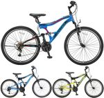 26 Zoll Herren Fully Mountainbike 21 Gang Hoopfietsen Albatros 001