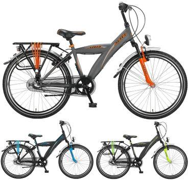 24 Zoll Jungen City Fahrrad 3 Gang Hoopfietsen Altec Speed – Bild 1