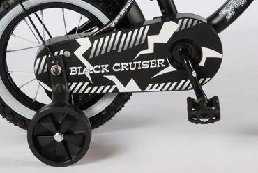12 Zoll Kinderfahrrad Volare Yipeeh Black Cruiser – Bild 3