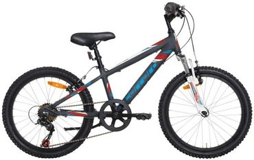 20 Zoll Jungen Mountainbike 6 Gang Carraro Spider Boy