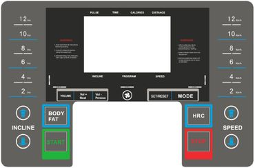 Atala Runfit 500+ Laufband mit MP3-Player bis 130 kg – Bild 2