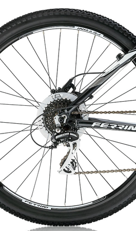 27,5 Zoll Herren Fahrrad Ferrini R3 HDB Acera 24V – Bild 9