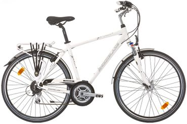 28 Zoll Herren Trekking Fahrrad 24 Gang Shockblaze CityLine Dolomite – Bild 3