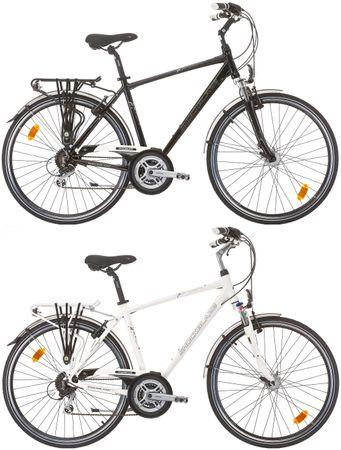 28 Zoll Herren Trekking Fahrrad 24 Gang Shockblaze CityLine Dolomite