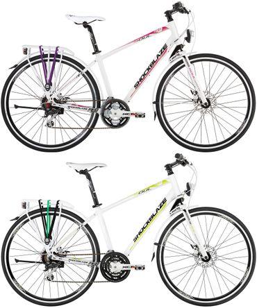 28 Zoll Damen Trekking Fahrrad 24 Gang Shockblaze Soul – Bild 1
