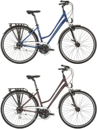 28 Zoll Damen Trekking Fahrrad 24 Gang Schockblaze Venue – Bild 1