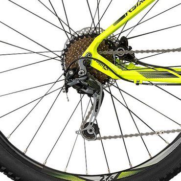 27,5 Zoll Herren Mountainbike 27 Gang Shockblaze R6 – Bild 10