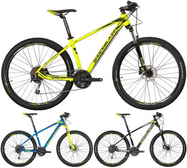 27,5 Zoll Herren Mountainbike 27 Gang Shockblaze R6
