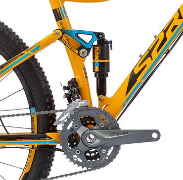 27,5 Zoll Herren MTB Fahrrad Sprint Addicted Sixteen – Bild 6