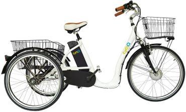 26 Zoll Elektro Dreirad 3 Gang Cyclo2 Comfort26 – Bild 2