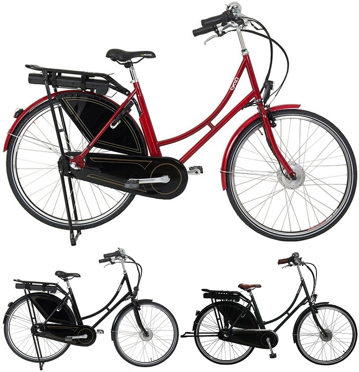 28 zoll damen elektro holland fahrrad cyclo2 vintage. Black Bedroom Furniture Sets. Home Design Ideas