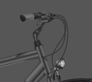 28 Zoll Herren City Fahrrad Sprint Discover Man Nexus 3 Seventeen  – Bild 2