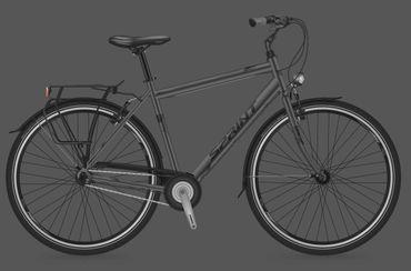 28 Zoll Herren City Fahrrad Sprint Discover Man Nexus 3 Seventeen  – Bild 1