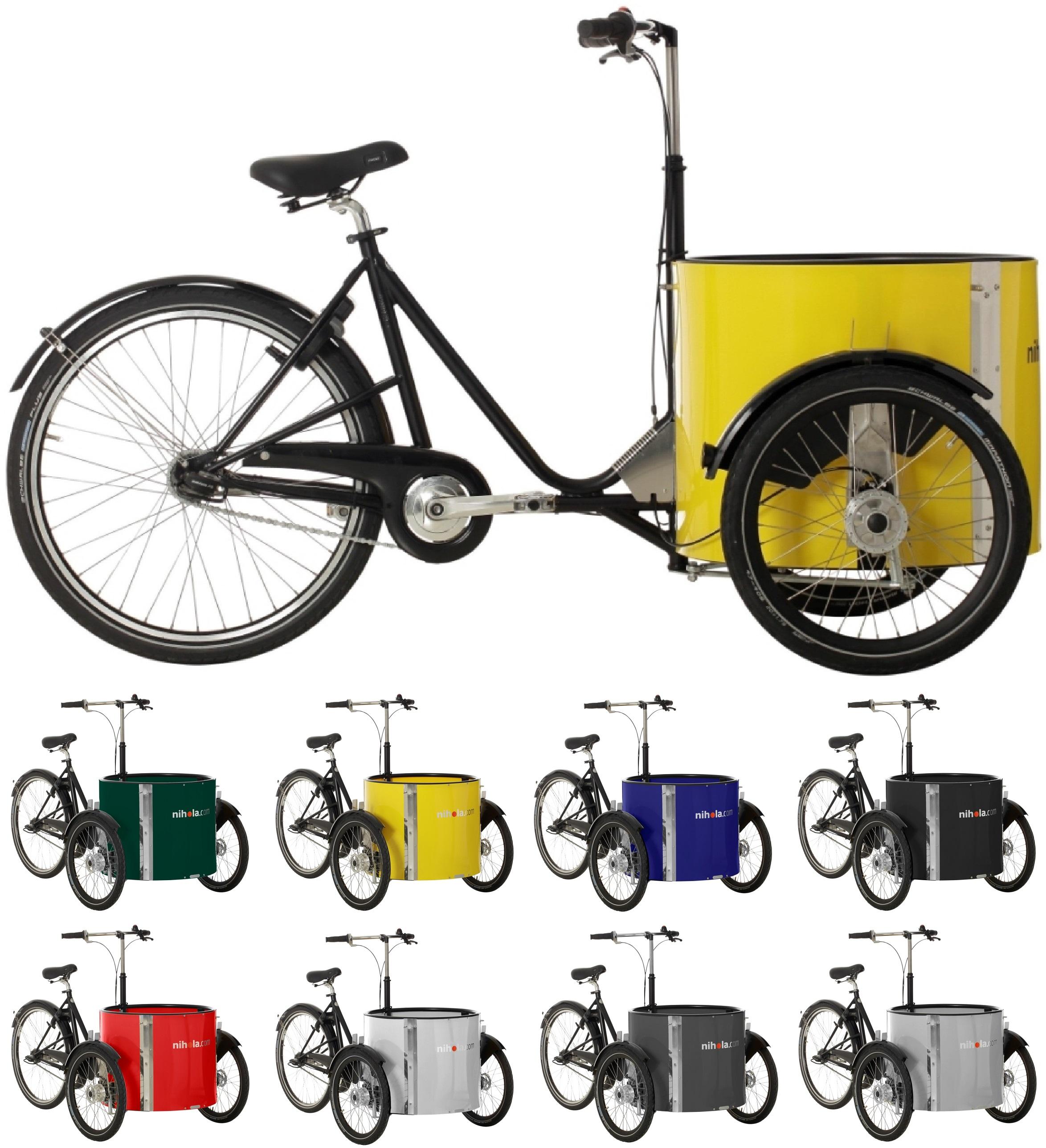26 Zoll Lastenrad 8 Gang Nihola Low Rücktritt Fahrräder Lastenräder