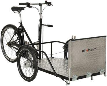 26 Zoll Lastenrad für Rollstuhlfahrer 8 Gang Nihola Flex – Bild 6