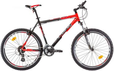 26 Zoll Herren Mountainbike 24 Gang Bikesport All Carter Marlin – Bild 2