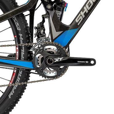 29 Zoll Herren Fully Mountainbike 20 Gang Shockblaze Trace Elite – Bild 7