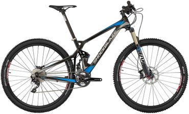 29 Zoll Herren Fully Mountainbike 20 Gang Shockblaze Trace Elite – Bild 1