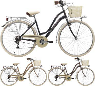 28 Zoll Damen City Fahrrad Cinzia Viaggio 6 Gang – Bild 1
