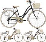 28 Zoll Damen City Fahrrad Cinzia Viaggio 6 Gang 001