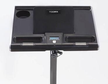 Toorx BRX Office Compact Heimtrainer Ergometer Fitnessfahrrad klappbar Computertisch – Bild 7
