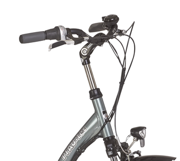 26 Zoll PFAU-TEC S1 grau Damen City Fahrrad mit tiefem Einstieg 7 Gang – Bild 4
