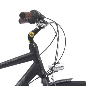 28 Zoll Herren Trekking Fahrrad 21 Gang Cinzia Crystal – Bild 2