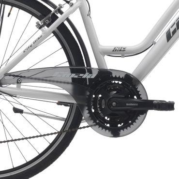 28 Zoll Damen Trekking Fahrrad 21 Gang Cinzia Crystal – Bild 6