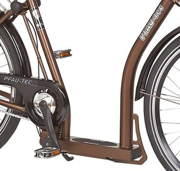 26 Zoll PFAU-TEC P1 braun Damen City Fahrrad mit extrem tiefem Einstieg 3 Gang – Bild 3