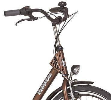 26 Zoll PFAU-TEC P1 braun Damen City Fahrrad mit extrem tiefem Einstieg 7 Gang – Bild 6