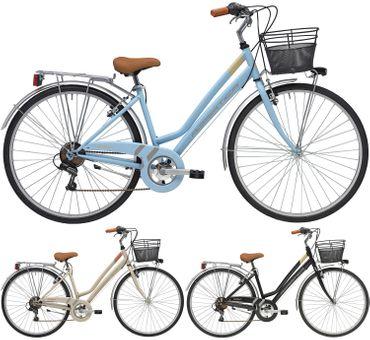 28 Zoll Damen City Fahrrad Adriatica Trend 6 Gang – Bild 1