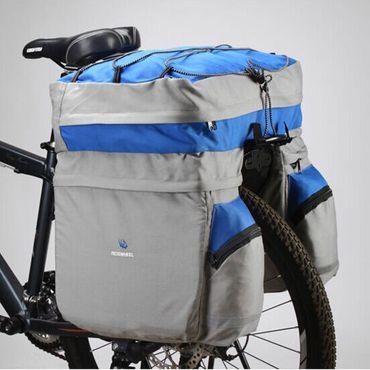 Fahrrad Tasche Gepäckträgertasche Trekking 60 L Stauvolumen – Bild 8