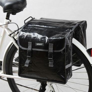 Doppel Gepäckträger Fahrrad Tasche Fahrradtasche Gepäcktasche – Bild 1