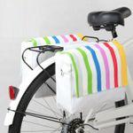 Doppel Gepäckträger Fahrrad Tasche Fahrradtasche Gepäcktasche 001
